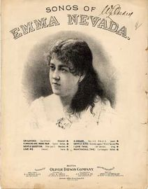 A Dream (Ich hatte einst ein Vaterland) - Song from Songs of Emma Nevada