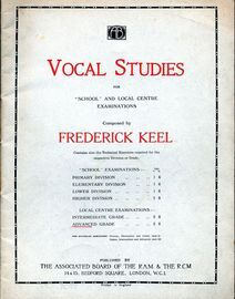 Vocal Studies for