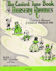 The Easiest Tune Book of Nursery Rhymes -  Book 1 with Guitar Symbols