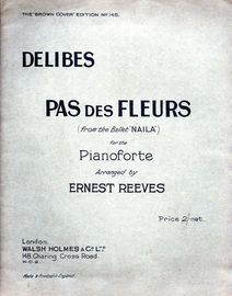 Pas Des Fleurs - For The Pianoforte - From The Ballet 'Naila'
