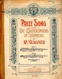 Walther's Prize Song from
