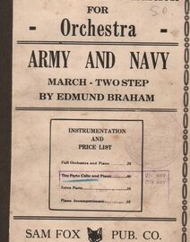 ARMY And Navy March - Two Step