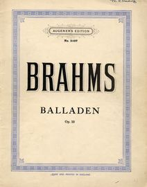 Balladen (after the old Scottish Ballad, ''Edward'') - Op. 10 - Augeners Edition No. 5107