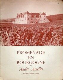 Andre Ameller - Promendae en Bourgogne - Suite for Clarinet and Piano