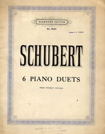 6 Piano Duets - Primo without Octaves - Augeners Edition No. 8537