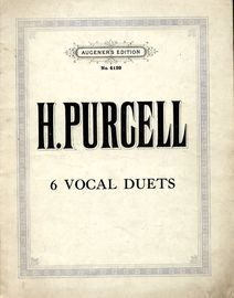 6 Vocal Duets - Augeners Edition No. 4129