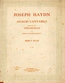 Adagio Cantabile for violin and piano with seperate violin part