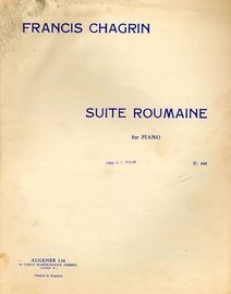 Suite Roumaine - For Piano