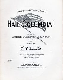 Hail, Columbia!, American national song