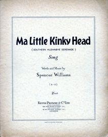 Ma Little Kinky Head (Southern Hushabye Serenade) - Song