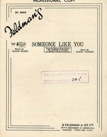 Someone Like You - From the Warner Bros Picture