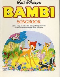 Bambi Songbook - All the songs from the film arranged for Piano and Vocal with chord symbols and Guitar chord symbols - With pictures from the film