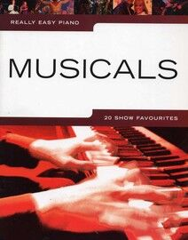 Musicals - 20 Show Favourites - Really Easy Piano
