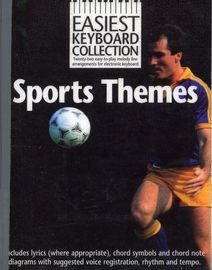 Sports Themes - Easiest Keyboard Collection - 22 Easy to Play Melody Line Arrangements for Electronic Keyboard