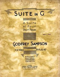 Suite in G - A suite of Four Short Pieces