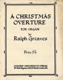 A Christmas Overture - For Organ