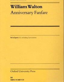Anniversary Fanfare - For Brass Ensemble with Percussion