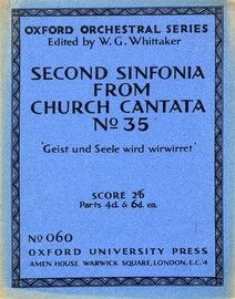 Bach - Second Sinfonia from Church Cantata No. 35 -