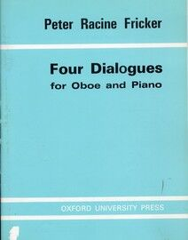 Peter Racine Fricker - Four Dialogues for Oboe and Piano