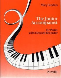 The Junior Accompanist for Recorder with Descant Recorder