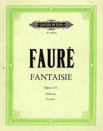 Fantaisie - Op. 111 - Two Pianos - Edition Peters No. 9569b