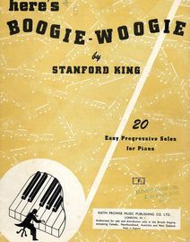 Heres Boogie-Woogie - 20 Easy Progressive Solos for Piano
