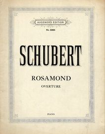 Schubert - Overture from Rosamond for Piano - Augener's Edition No. 5995
