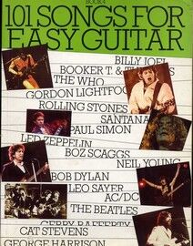 101 Songs for Easy Guitar - Book 4