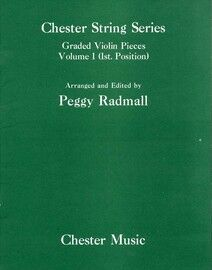 Graded Violin Pieces Volume 1 (1st Position) - Chester String Series
