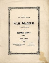Valse Gracieuse - For the Pianoforte - Op. 49, No. 1
