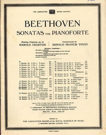 Beethoven Sonata No. 12 in A Flat Major - Op. 26 - Beethoven Sonatas for Pianoforte Series