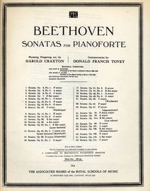 Beethoven Sonata No. 27 - Op. 90 - In the key of E minor