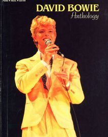 David Bowie - Anthology - For Piano, Vocal and Guitar