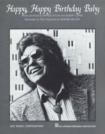 Happy, Happy Birthday Baby - Featuring Ronnie Milsap - Piano - Vocal - Guitar