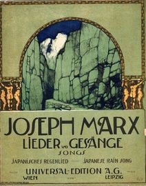 Japanese Rain Song - From Lieder und Gesange (Songs) 1st Series, No. 13 - For High Voice