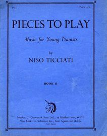 Pieces to Play - Music for Young Pianists - Book 11 - 11 Pieces