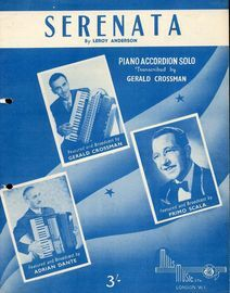 Serenata - Piano Accordian Solo By Leroy Anderson