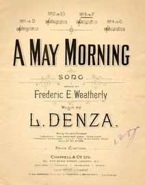 A May Morning - Song - In the key of F major