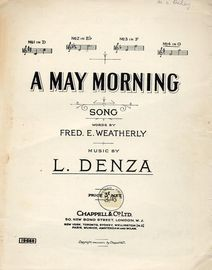 A May Morning - Song - In the Key of G major for high voice