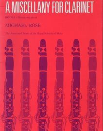 A miscellany for clarinet Book 1, 11 easy pieces