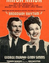 Amor Amor, George Murphy and Ginny Simms