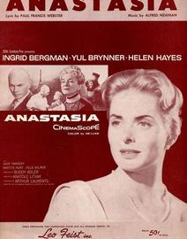 Anastasia - From the Film - Featuring  Ingrid Bergman & Yul Brynner