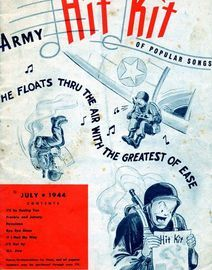 Army Hit Kit of popular songs, issued by United States Army 1944