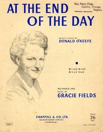 At the End of the Day - Song in the key of G major (D to G) featuring Gracie Fields