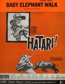 Baby Elephant Walk, from Hatari, John Wayne