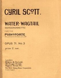 C Scott. Op.71. No.3