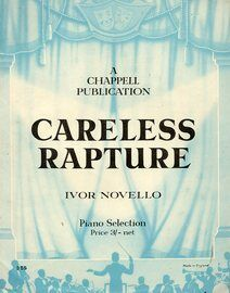 Careless Rapture -  Piano Selection