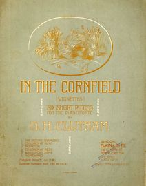 Children at rest. No. 4 from In the Cornfield (Vignettes) Six Short Pieces for the Piano