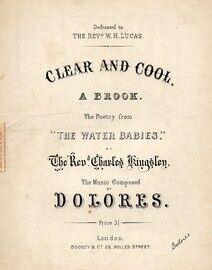 Clear and Cool, The poetry from The Water Babies