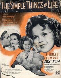 Copy of Copy of The Simple Things in Life, Shirley Temple in
